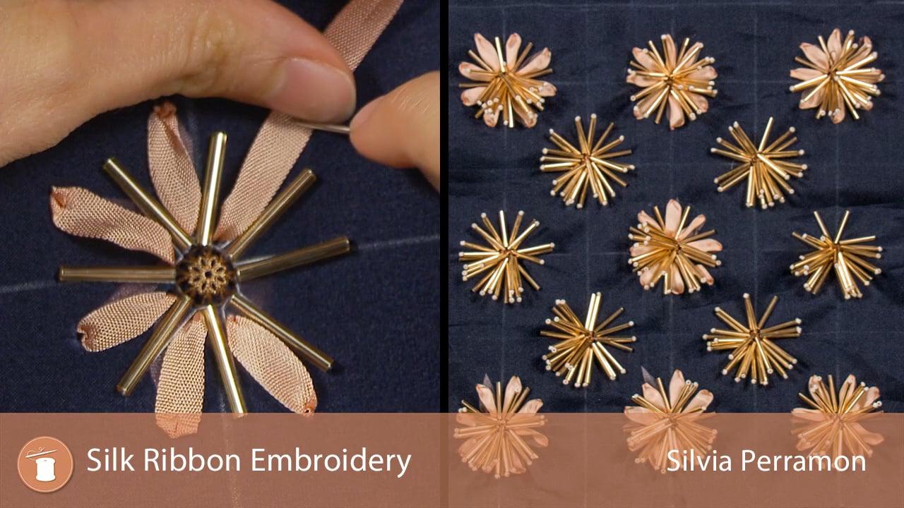 Tambour Silk Ribbon Embroidery University Of Fashion