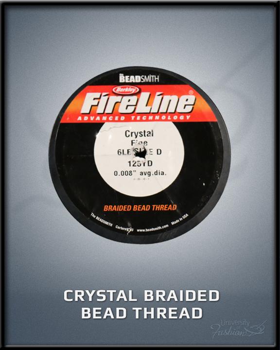 Crystal Braided Bead Thread