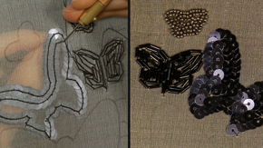 Tambour Beading-Sequins, Seed & Bugle Beads