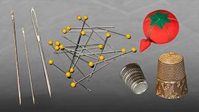 Intro To Needles, Pins, Thimbles & Pincushions