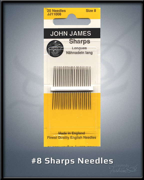 #8 Sharps Needles