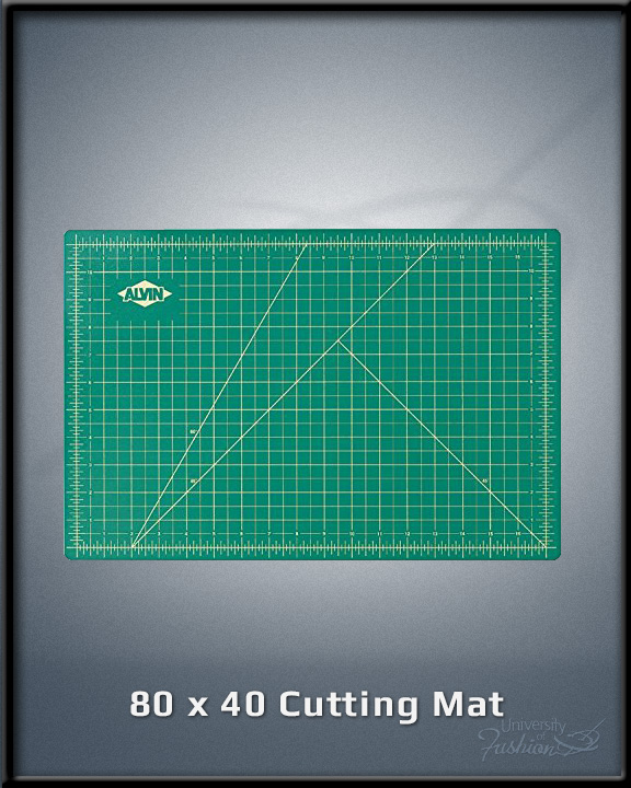 80 x 40 Cutting Mat