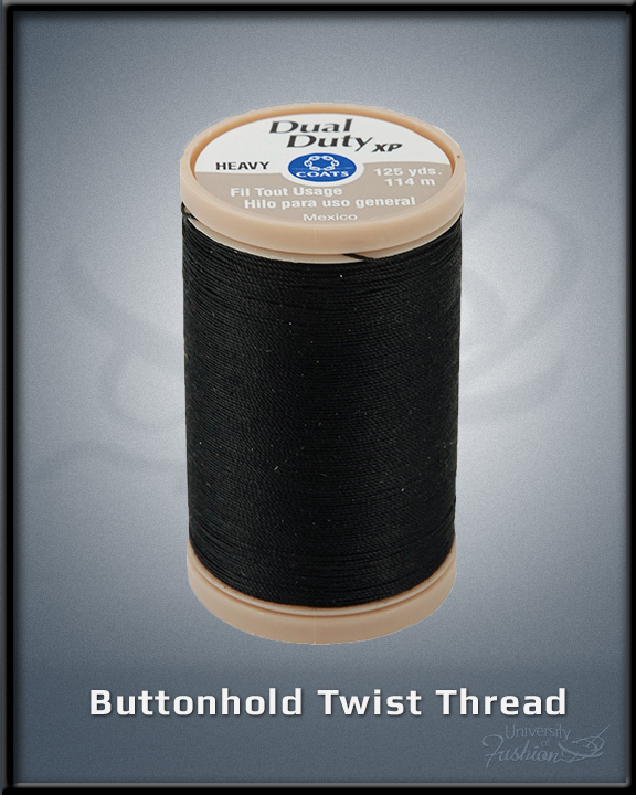 Buttonhole Twist Thread