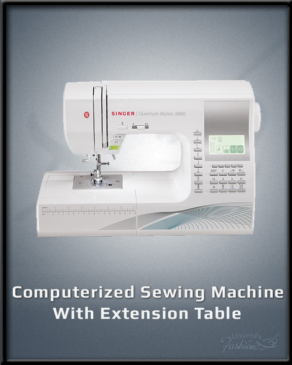 Computerized Sewing Machine with Extension Table