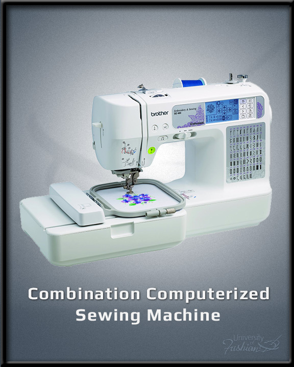 Combination Computerized Sewing Machine