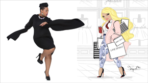 Plus Size: Models, Illustrators, Designers and More
