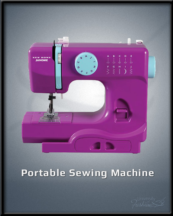 sewing portable machine