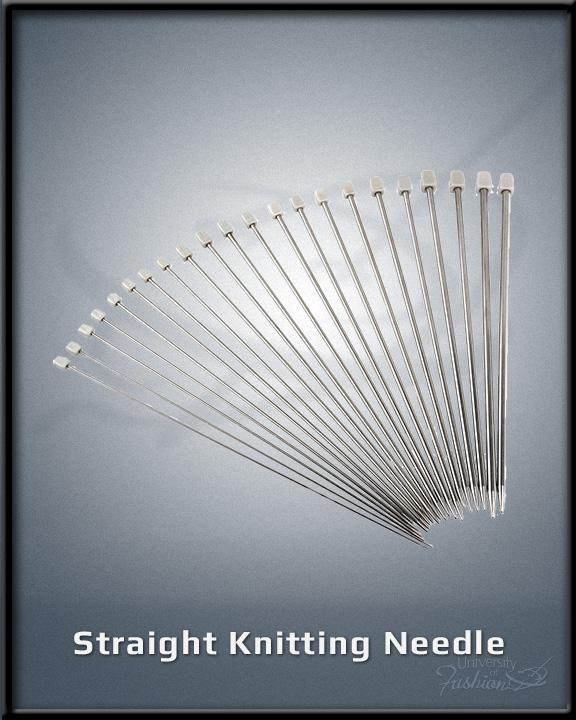 Straight Knitting Needle