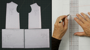 Drafting a Girl's Drop Waist Dress & Variations