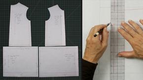 Drafting a Girl's Drop Waist Dress & Variations