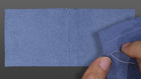 Double-faced Wool Seam