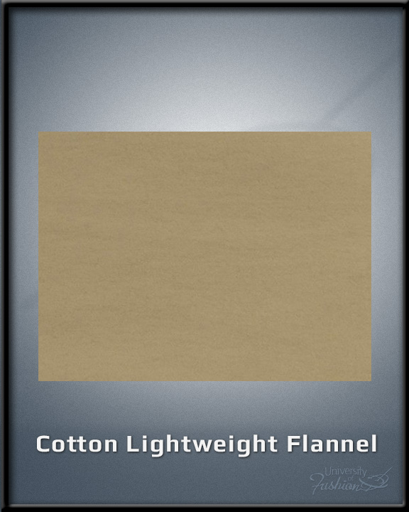 Cotton Lightweight Flannel
