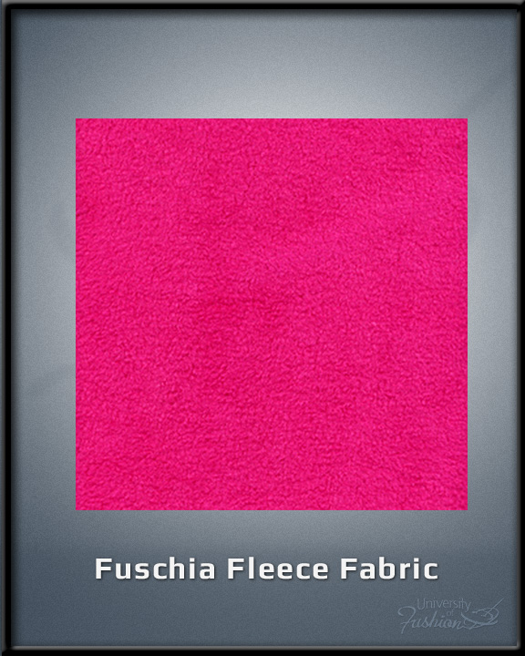 Fuschia Fleece Fabric