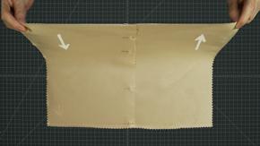 Pattern Layout on Satin & Shine Fabric