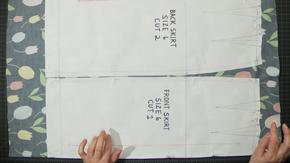 Pattern Layout on One-Way Print Fabrics