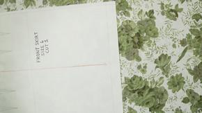 Pattern Layout on Engineered Print Fabrics