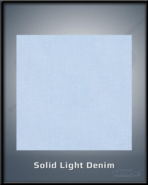 Solid Light Denim
