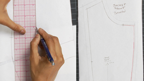 Drafting a Women's Jacket