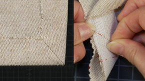Sewing a Mitered Corner