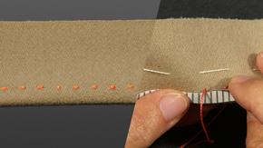 Sewing a Pick Stitch