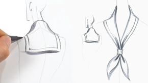 Drawing a Sailor Collar