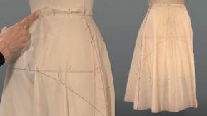 Flare Skirt Center Grain