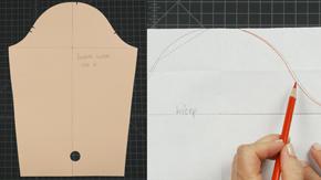 Drafting a Child's Sleeve Sloper