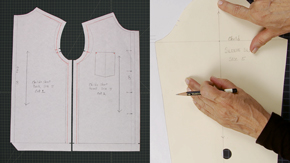 Drafting a Child's Shirt