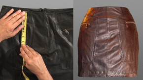 How To Spec a Leather Skirt