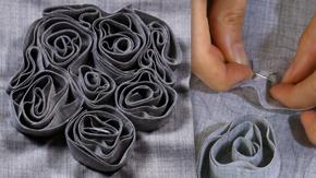 Fabric Manipulation – Swirl Pattern