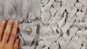 Fabric Manipulation – Tier Motif