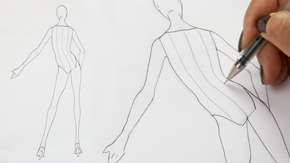 Drawing Female Contrapposto Back Pose
