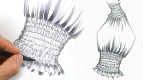 Drawing Smocking