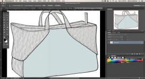 Image showing sample of lesson Introduction to Photoshop for Accessory Design