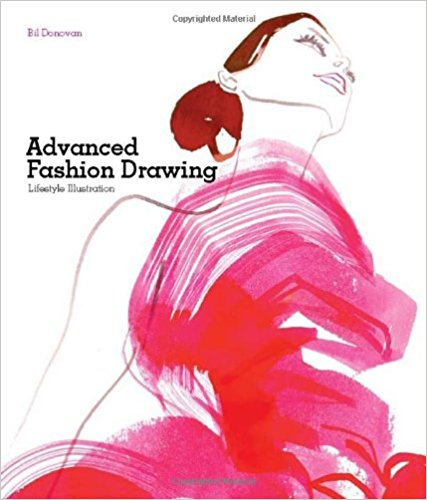 Advanced-Fashion-Drawing-Lifestyle-Illustration Book Cover