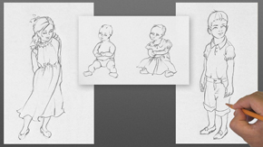 Drawing Children – Infant & Toddlers