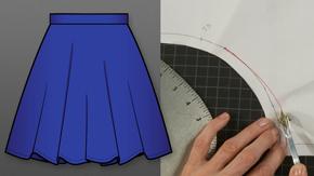 Three-Quarter Circle Skirt