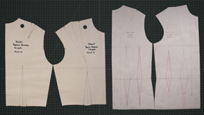 Convert Bodice Sloper to Fitted Torso Sloper
