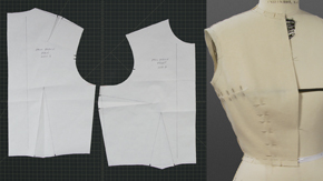 Drafting a Side Bust Dart Bodice Sloper from Measurements