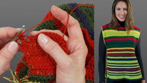 Crocheting a Tabard Tank Top