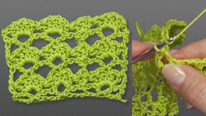 Crocheting a Shell Stitch