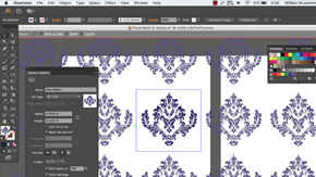 Creating Patterns in Illustrator – #24