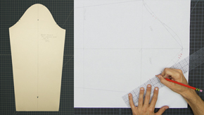 Drafting a Men's Set-in Sleeve Sloper