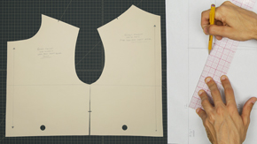 Drafting a Men's Upper Body Jacket Block