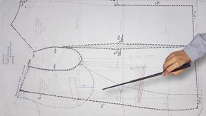 Drafting a Men's Jacket Lining, Facing & Interfacings