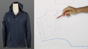 Drafting a Men's Hoodie