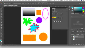 Drawing and Filling Shapes in Adobe Photoshop-#4