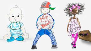 Drawing Children – 4-6X