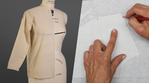 Drafting a Dart-less Torso Sloper & Sleeve
