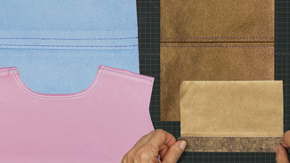 Faux Leather, Suede & Patent Leather Sewing Tips